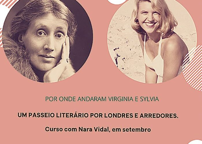 A Londres de Sylvia Plath e Virginia Woolf em curso online