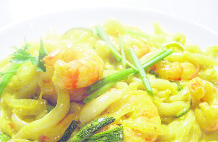 Receita de risoto de camarão com lula