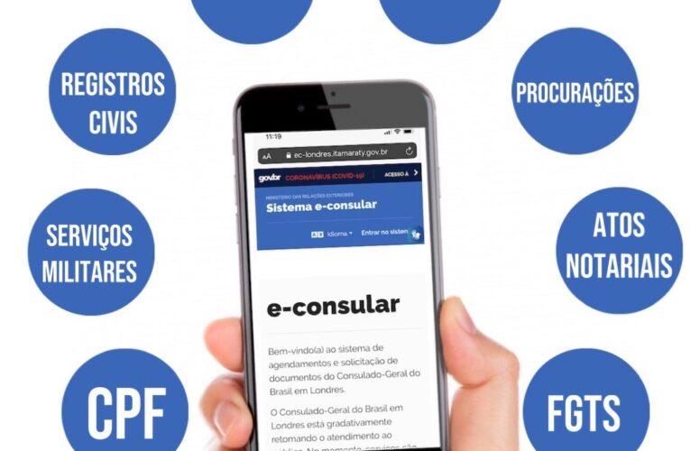E-consular: entenda o novo sistema de solicitação eletrônica de serviços do consulado do Brasil