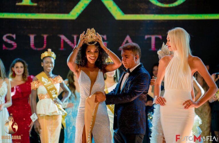 Andreia Correia: três vezes Miss