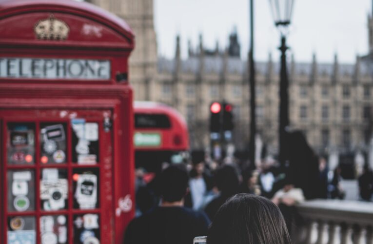 Falantes de português no Reino Unido
