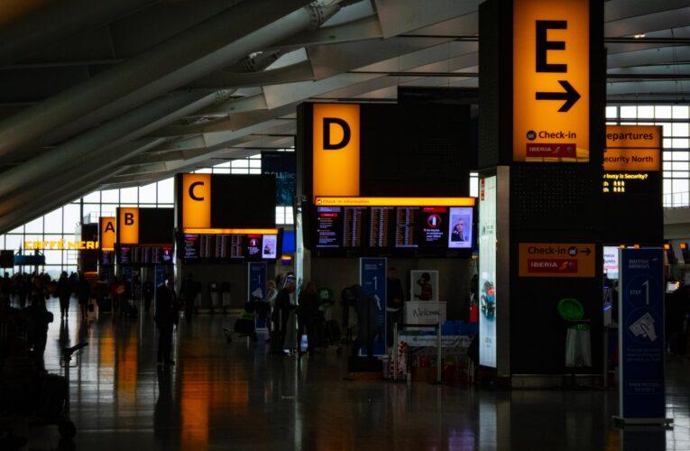 Teste de Covid-19 obrigatório para todos que viajam para UK