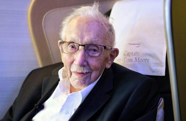 Aplausos para o capitão Sir Tom Moore – um herói britânico