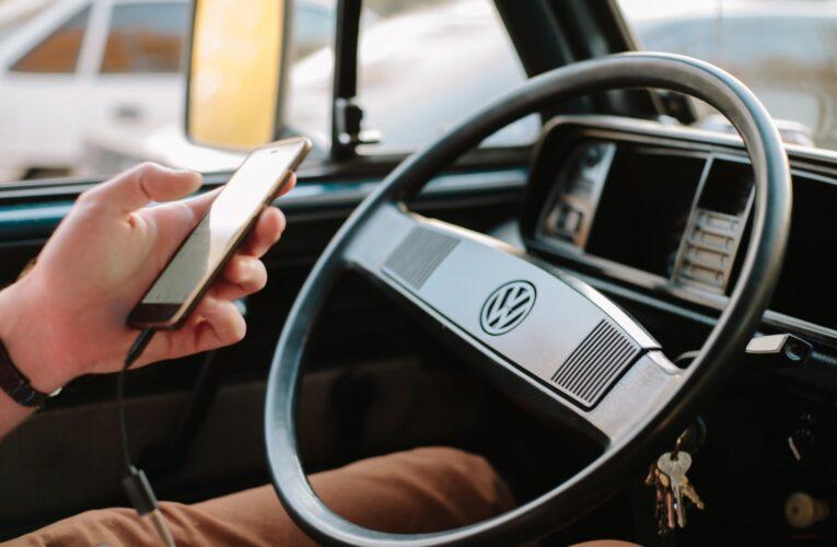 Tolerância zero para motoristas que usam telefone ao volante