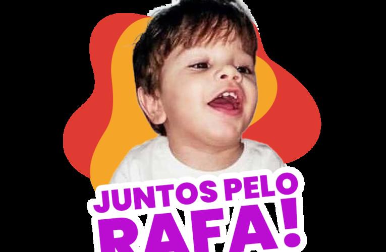 Ajude Rafa, o garoto brasileiro que precisa do medicamento mais caro do mundo