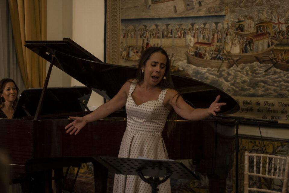"""Lara Martins apresentou em Londres seu mais recente trabalho """"Canção"""""""